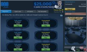 888 Poker Bonus Box