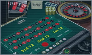 roulette at bet365