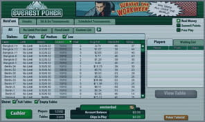everest poker software και download