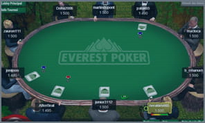 large player pool at everest poker
