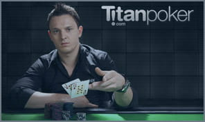 live and online poker events at titan poker