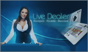live dealer games and action at party