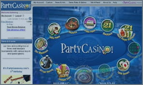 party casino variety of games and offers
