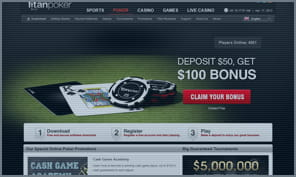 welcome bonus at titan poker